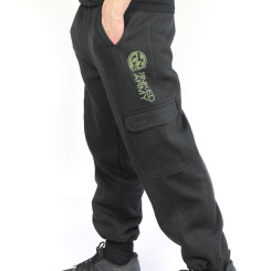 The Inked Army - Gents - Cargo Sweatpants - Black