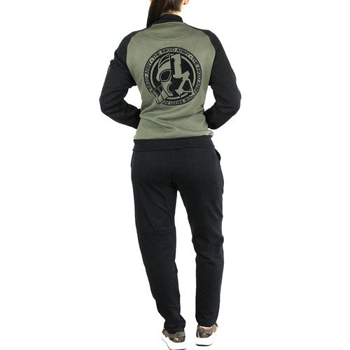 Inked Army - Ladies - Tapered Interlock Sweatpants - Black