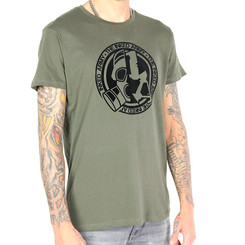 The Inked Army - Gents - T-Shirt Round - Neck - Olive L