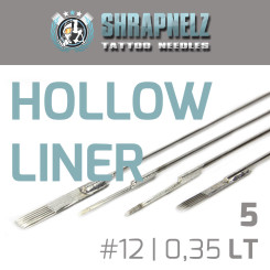THE INKED ARMY - Shrapnelz Tattoo Nadeln - 5 Hollow Liner...