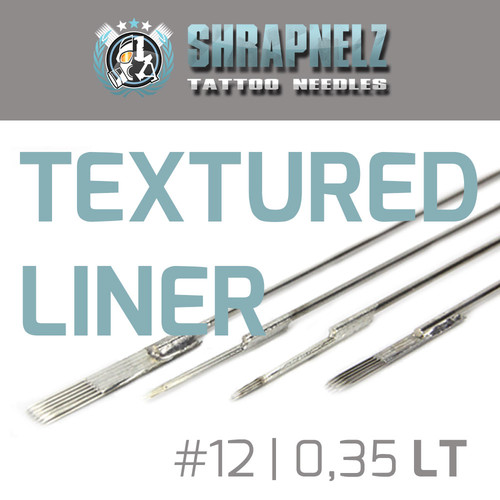THE INKED ARMY - Shrapnelz Tattoo Needles - Textured Liner