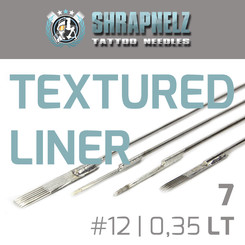 THE INKED ARMY - Shrapnelz Tattoo Nadeln - 7 Textured...