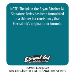ETERNAL INK - Tattoo Farbe - Bryan Sanchez M. Watercolor...