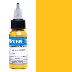 INTENZE INK - Tattoo Farbe - Banana Cream 29,6 ml