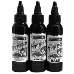 NOCTURNAL INK - Tattoo Farbe - West Coast Blend Gray Wash...