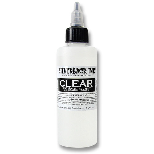 SILVERBACK INK - Tattoo Farbe - Clear 120 ml