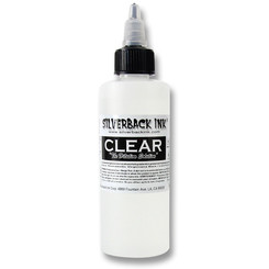 SILVERBACK INK - Tattoo Color - Clear 120 ml