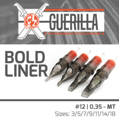 The Inked Army - Guerilla Cartridges - Bold Liner - #12 /...
