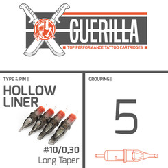 THE INKED ARMY - Guerilla Tattoo Cartridges - 5 Hollow...