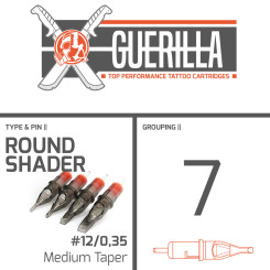 THE INKED ARMY - Guerilla Tattoo Nadelmodule - 7 Round...