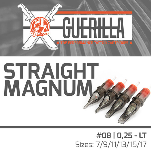 THE INKED ARMY - Guerilla Tattoo Cartridges - Magnum - 0,25 LT