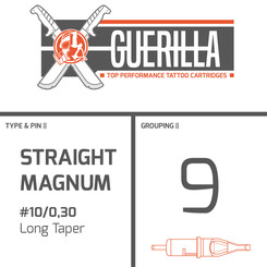 THE INKED ARMY - Guerilla Tattoo Nadelmodule - 9 Magnum -...