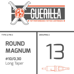 THE INKED ARMY - Guerilla Tattoo Nadelmodule - 13 Round...