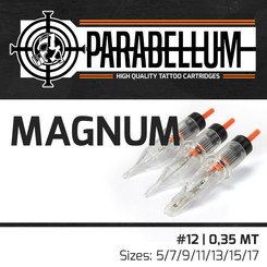 THE INKED ARMY - Parabellum Tattoo Cartridges - Magnum -...