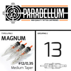 THE INKED ARMY - Parabellum Tattoo Nadelmodule - 13...