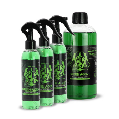 Green Agent Bundle - 3x Ready-To-Use 200 ml & 1x Concentrate 500 ml