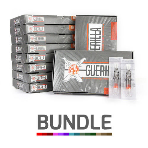 THE INKED ARMY - Guerilla Tattoo Cartridges - Custom Bundle