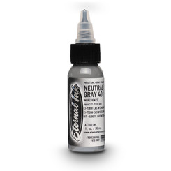ETERNAL INK - Tattoo Farbe - 40% Neutral Gray