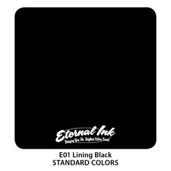 ETERNAL INK - Tattoo Color - Lining Black 15 ml