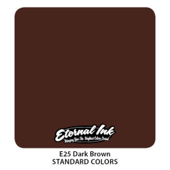 ETERNAL INK - Tattoo Farbe - Dark Brown 30 ml