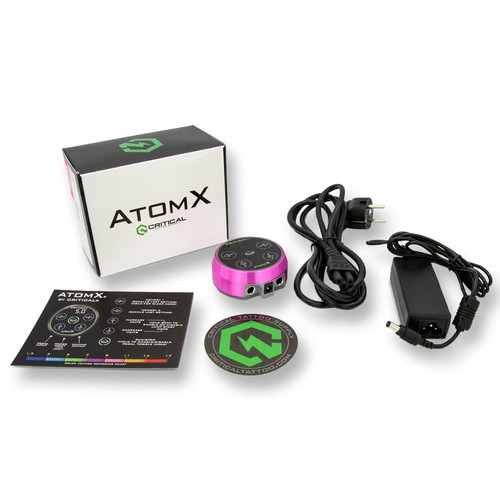 CRITICAL TATTOO - Power Supply - Atom X Pink