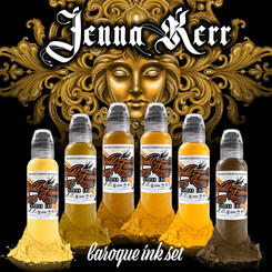 WORLD FAMOUS INK - Tattoo Color - Jenna Kerr Baroque -...