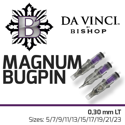 Da Vinci Cartridges - Magnum Bugpin - 0,30 mm LT
