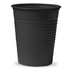 Disposable cup - Black 100 Pcs/Pack